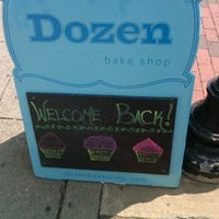 Photo taken at Dozen Bake Shop by Steve V. on 9/2/2011