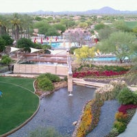 Photo taken at JW Marriott Phoenix Desert Ridge Resort & Spa by Eric on 5/9/2011