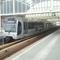 Photo taken at Metrostation Spijkenisse Centrum by Niels V. on 12/9/2011