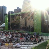 Photo taken at Damrosch Park by Kimilee B. on 7/29/2012
