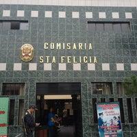 Photo taken at Comisaría de Santa Felicia by Kechy C. on 9/12/2012