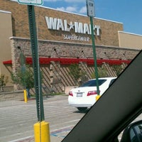 Photo taken at Walmart Supercenter by Corey W. on 8/18/2011
