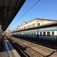 Photo taken at Stazione Lucca by Mauro C. on 1/17/2012