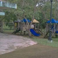 Photo taken at Parque Infantil Dionisio García Santiago by Raulito B. on 8/24/2011