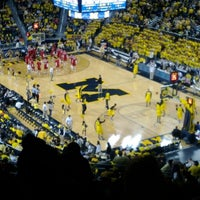 Photo taken at Crisler Center by Rob on 1/8/2012