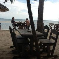 Photo taken at Milky Bay Resort Koh Phangan by Eelco R. on 5/7/2012