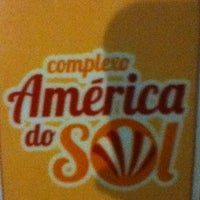 Photo taken at Complexo America do Sol by Dulce F. on 8/31/2012