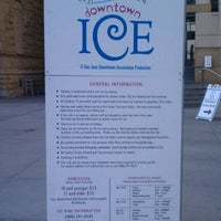 Photo taken at Downtown Ice by Stephen T. on 1/9/2012
