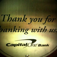 Photo taken at Capital One Bank by Nakeva (Photography) C. on 9/14/2011