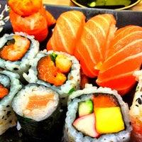 Photo taken at Kantô Sushi Express by Lorenzo P. on 4/27/2012
