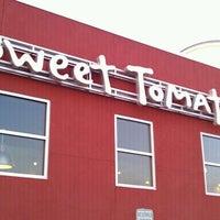 Photo taken at Sweet Tomatoes by David P. on 4/17/2011