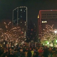Photo taken at Sundance Square by Ken G. on 11/26/2011
