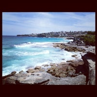 Photo taken at Tamarama Beach by Light on 1/13/2012