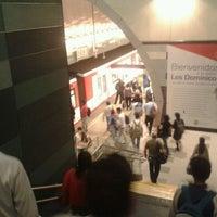 Photo taken at Metro Los Dominicos by Chosen T. on 11/14/2011