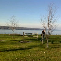 Photo taken at Warren W. Clute Memorial Park by Christopher S. on 11/24/2011