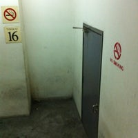 Photo taken at Smoking Area Level 16 by Mohd H. on 10/19/2011