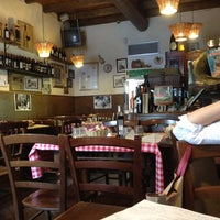 Photo taken at Bar Bistrot Amici Miei by Beppe D. on 6/7/2012