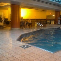 Photo taken at Embassy Suites by Hilton Indianapolis Downtown by Jennifer D. on 12/23/2011