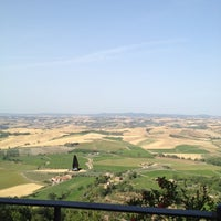 Photo taken at Dei Capitani Hotel Montalcino by Paul B. on 7/1/2012