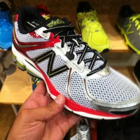 Photo taken at New Balance by Aron on 8/2/2012