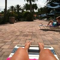 Photo taken at Splash Lagoon (North Village at Orange Lake Resort) by Kayla B. on 8/25/2012