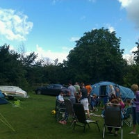 Photo taken at Chertsey Camping and Caravanning Club Site by Clive J. on 7/23/2011