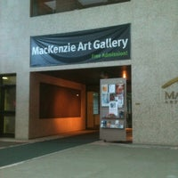 Photo taken at MacKenzie Art Gallery by Crystal P. on 8/21/2011