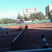 Photo taken at Federación de Tenis de Chile by Buffona L. on 12/21/2011