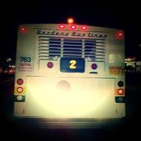 Photo taken at GARDENA MUNICIPAL BUS STOP by TONY A. on 12/28/2011