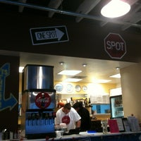 Photo taken at Spot A Pizza Place by Aaron P. on 11/22/2011