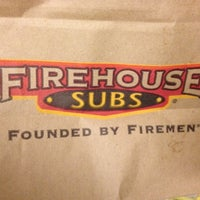 Photo taken at Firehouse Subs by Jason S. on 5/8/2012