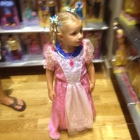 Photo taken at Disney Store by Vanessa on 7/15/2012