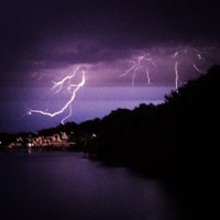 Photo taken at Boathouse Row by Blondie x. on 7/27/2012