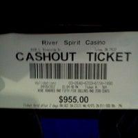 Photo taken at River Spirit Casino by James H. on 4/5/2012