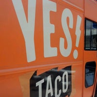 Photo taken at YES! Taco at SiNaCa Studios by Beer P. on 4/6/2012