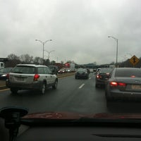 Photo taken at I-90 Weston Toll Plaza from / to I-95 (Exit 14) by Paul D. on 3/16/2012