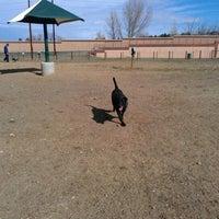 Photo taken at David Lorenz Dog Park by Landa S. on 3/11/2012