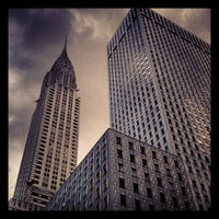 Photo taken at Chrysler Building by Teddy P. on 6/6/2012
