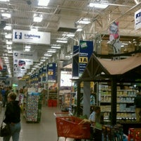 Photo taken at Lowe's Home Improvement by Michael R. on 4/21/2012