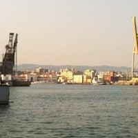 Photo taken at Porto di Catania by Claudia P. on 8/21/2012