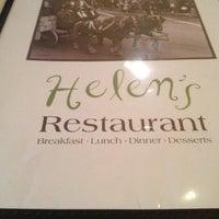 Photo taken at Helen's Restaurant by Marsh S. on 2/10/2012