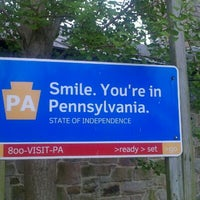 Photo taken at Pennsylvania Welcome Center by Jackie W. on 4/22/2012