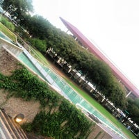 Photo taken at Tranquility Park by carlos v. on 9/13/2012