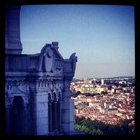 Photo taken at Basilica of Notre-Dame de Fourvière by Monsieur S. on 7/22/2012