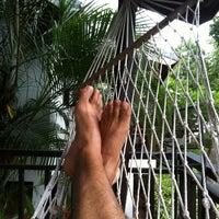 Photo taken at Sarikantang Resort & Spa, Koh Phangan by Mo N. on 9/7/2012