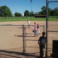 Photo taken at Community Baseball Fields by Kristie B. on 6/23/2012