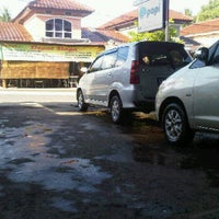 Photo taken at SHM Car wash by Ndaru S. on 1/28/2012
