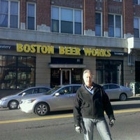 Photo taken at Boston Beer Works by Bobby O. on 1/4/2012