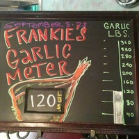 Photo taken at Frankie's Pizza & Pasta by Anita G. on 9/16/2011