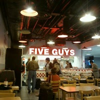 Photo taken at Five Guys by Jeff P. on 8/25/2011